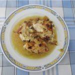 Pechuga de pollo rellena